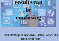 Jaxxy Keyword Review by Ebizstrategist.m