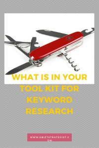 Ebizstrategist.com Keyword Research tools